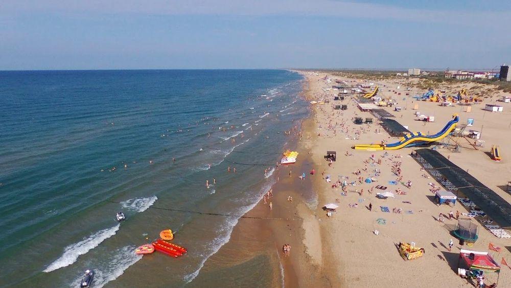 Витязево пляжи